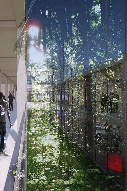 Image et conception réalisées par LACATON & VASSAL ARCHITECTES